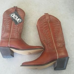 BRAND NEW OLD STOCK Acme Cowgirl Boots